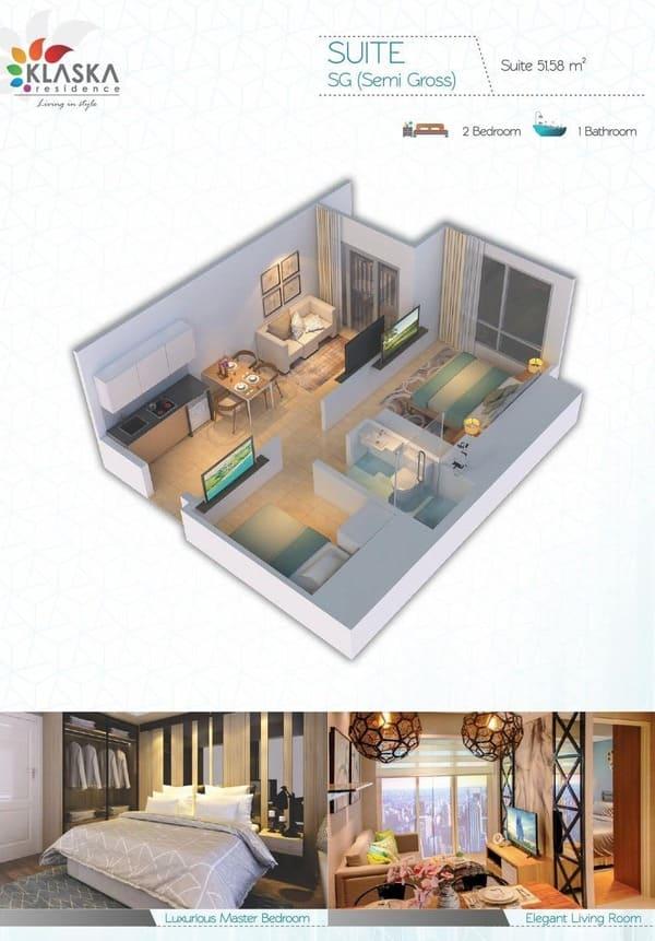 Klaska Residence Tipe Suite image