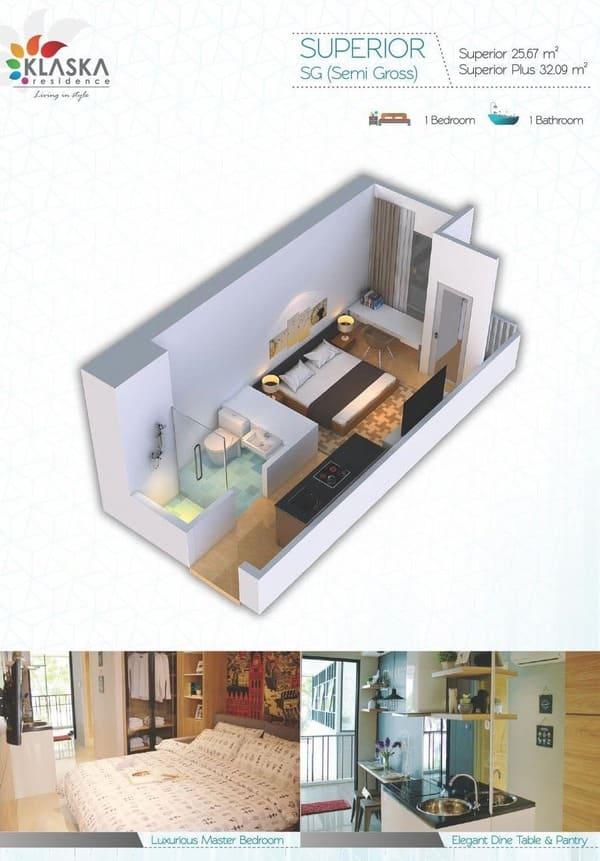 Klaska Residence Tipe Superior image